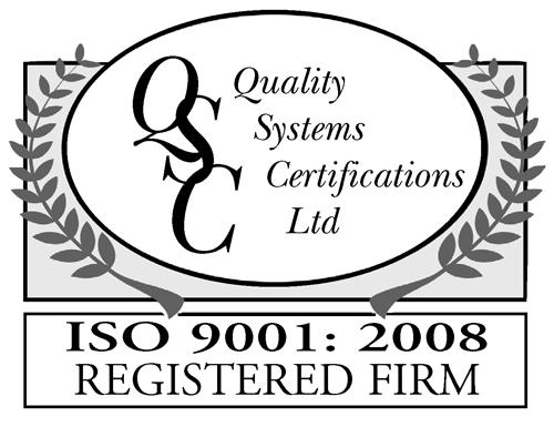 Logo QSC ISO 9001-2008