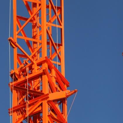 Department tower cranes